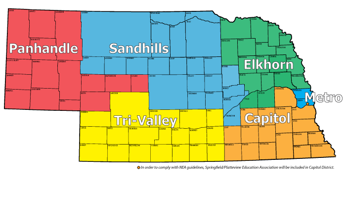 2018-19 District Map